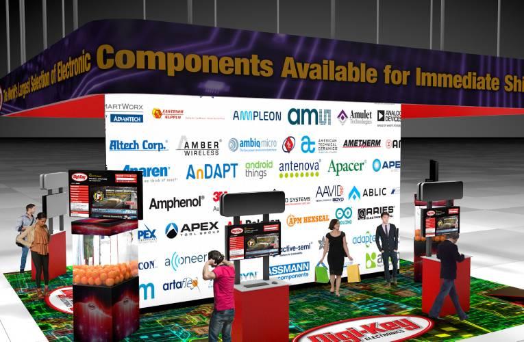 Embedded World 2020 Digi-Key Booth