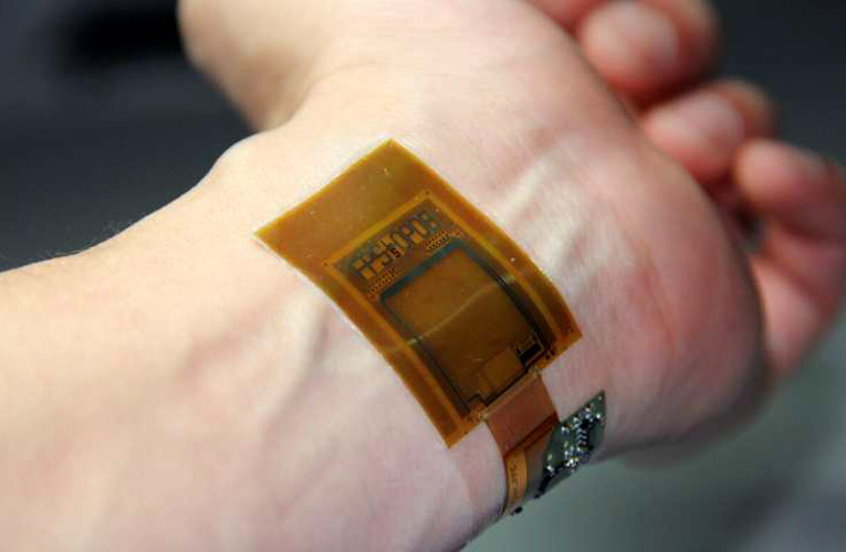 Flexible Two-Dimensional Biometric Image Sensor