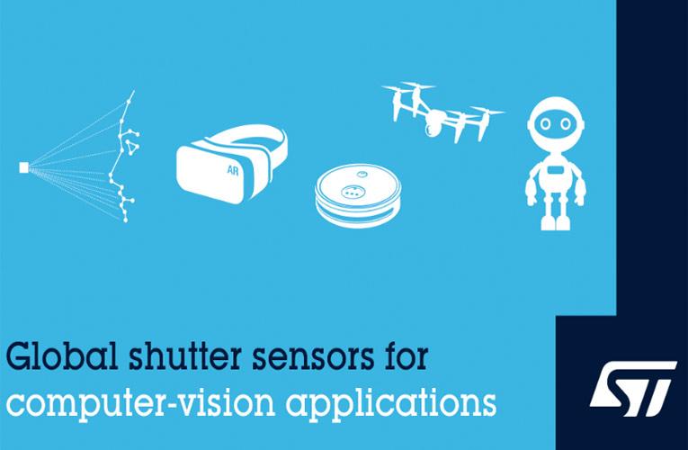VD55G0 and VD56G3 Global Shutter Image Sensors