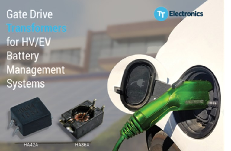 New Gate Drive transformers for HV/EV Battery Management Systems