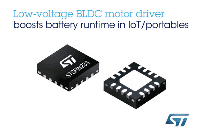 Highly Efficient Single-Chip Three-Phase and Three-Sense BLDC Driver Boosts Runtime from Batteries