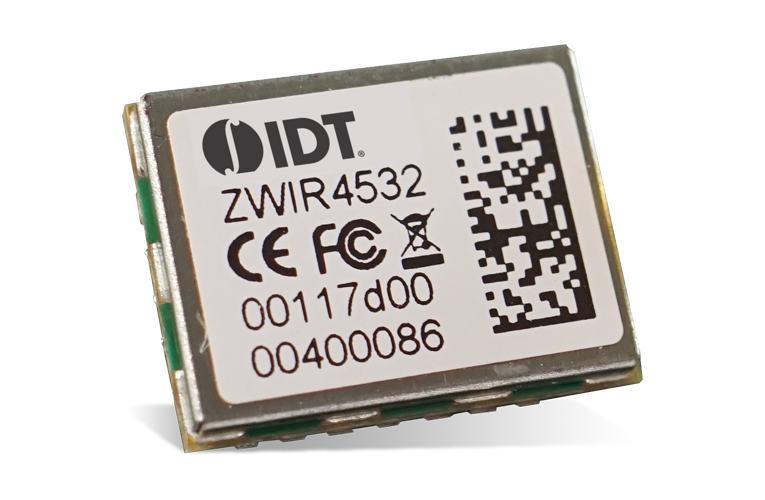 IDT ZWIR4532 Low-Power 6LoWPAN Module