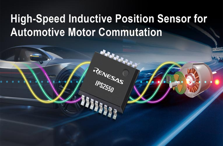 IPS2550 Magnet-Free Inductive Position Sensor