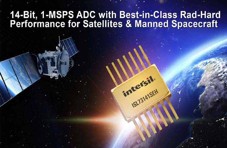 High-Performance Single-Chip SAR Analog-to-Digital-Converter (ADC) for Telemetry, Tracking, and Control Payloads in Radiation-Hardened Space Applications