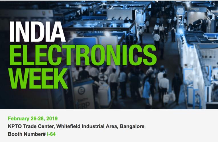 Mouser Electronics Sponsors India Electronics Week 2019