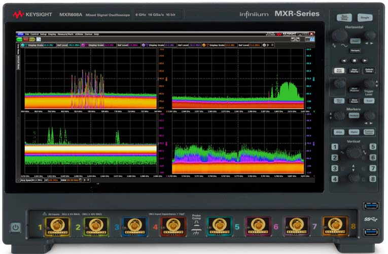 Infiniium MXR-Series Oscilloscope