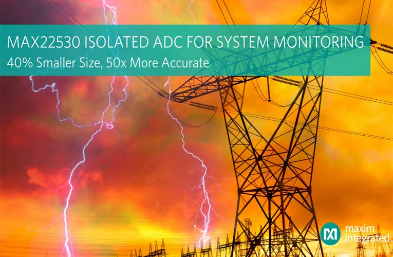 MAX22530 Isolated System-Monitoring Solution