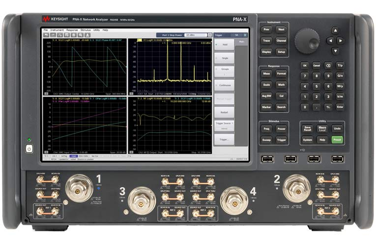 New Network Analyzers with Direct Digital Synthesis for Low Phase Noise Interference