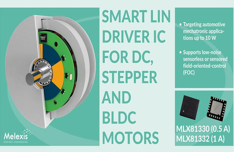 Gen 3 MLX81330 and MLX81332 Smart LIN Drivers from Melexis