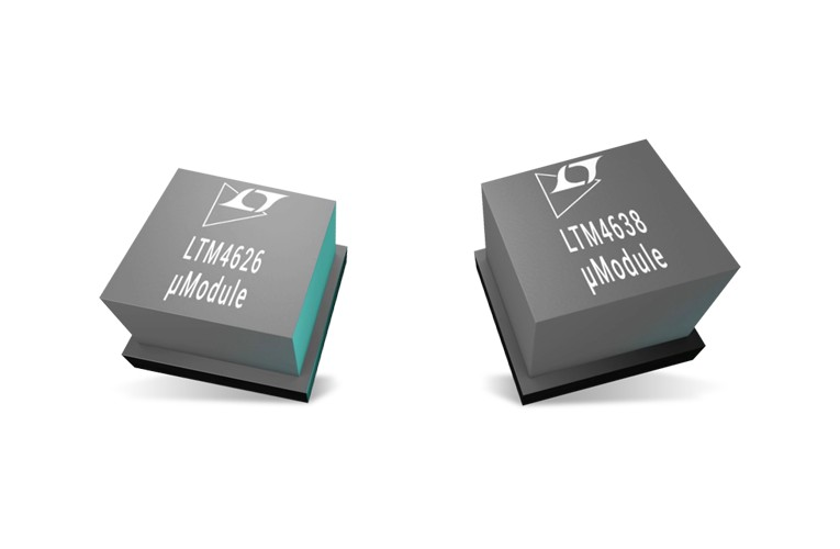 Analog Devices LTM4626 and LTM4638 µModule Buck Regulators