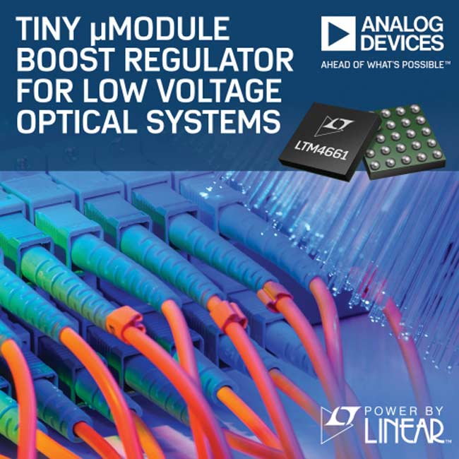 LTM4661 Tiny uModule Low Voltage Regulator