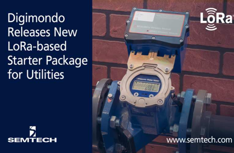 Smart Utility package from Semtech and Digimondo for easy deployment and operation of LoRaWAN Networks