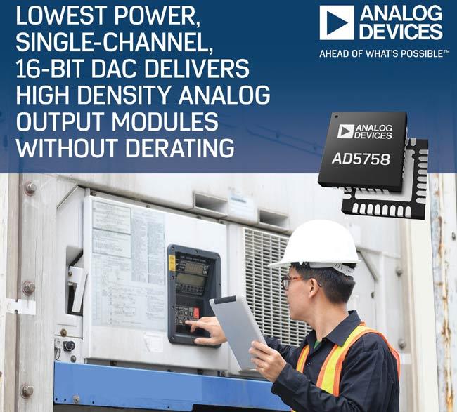 Low-Power Single-Channel 16-Bit DAC