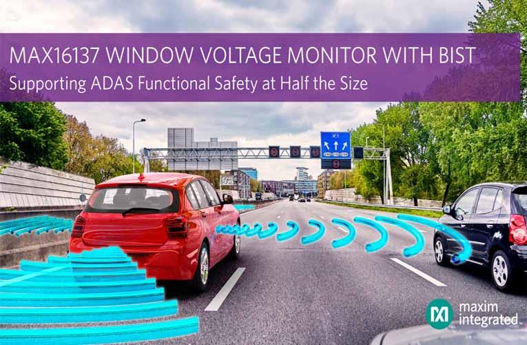 MAX16137 Window Voltage Monitor