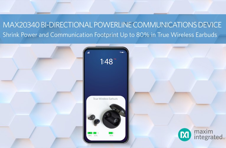 Bidirectional Powerline Communication Management IC for Ultra-low-power Portables and Wearables