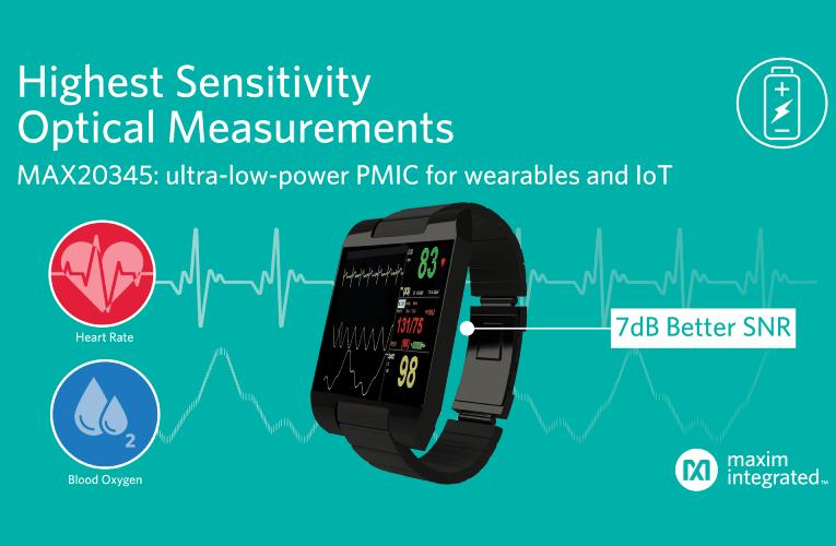 Latest Ultra-Low-Power PMIC Enables Highest Sensitivity Optical Measurements