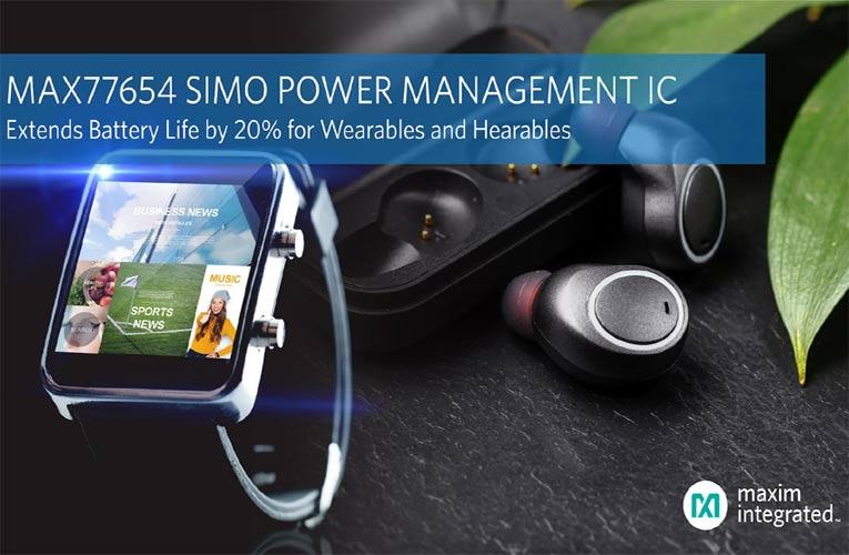 MAX77654 Power Management IC