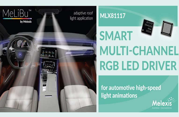 MLX81117 RGB LED Driver IC
