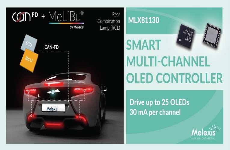 MLX81130 OLED Controller