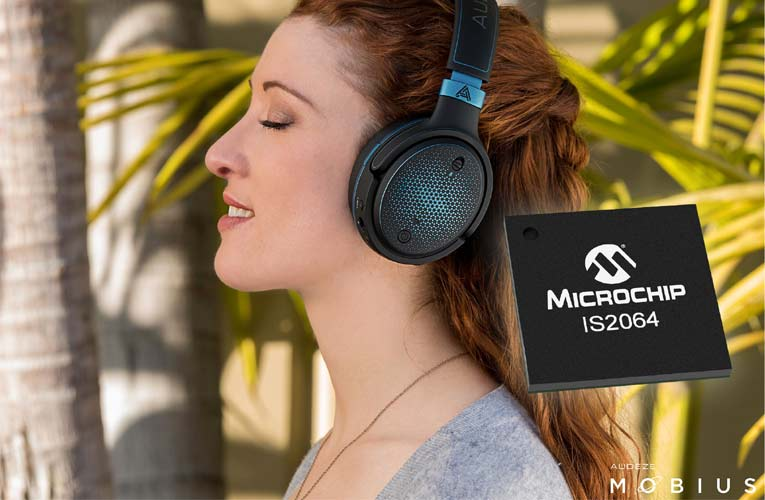Microchip's New Bluetooth Audio Chip with Sony's LDAC Technology for High-Resolution Audio Devices