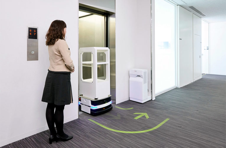 Mitsubishi's In-Building Mobilities Controlling Technology