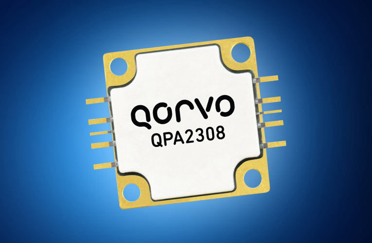 QPA2308 60W GaN Power Amplifier for Commercial and Military Applications