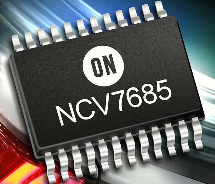NCV7685 LED Driver and Controller IC