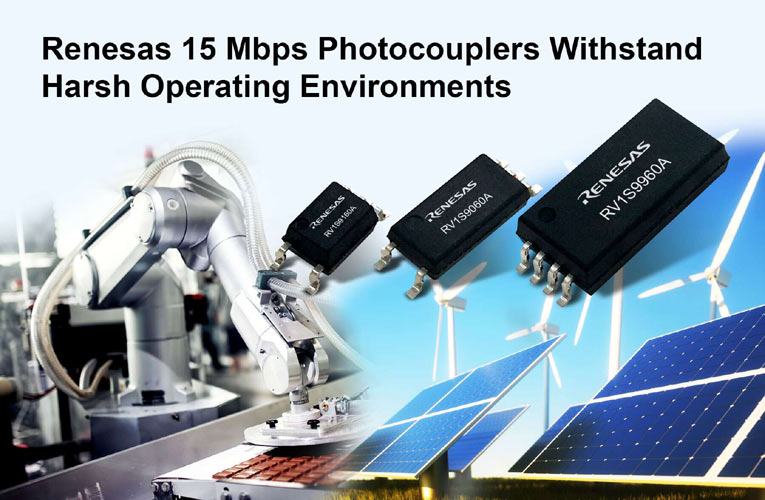 New Family of 15 Mbps Photocouplers for Harsh Industrial Applications