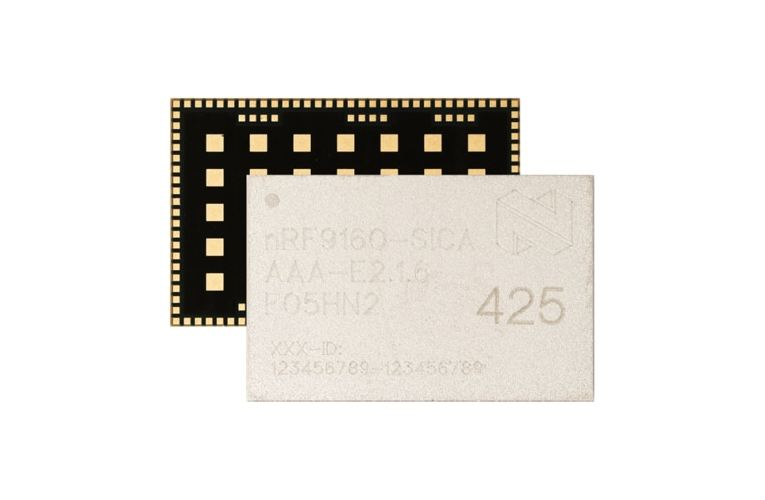 Nordic's nRF91 SiP for Compact, Low-Power Cellular IoT Solution