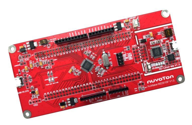 NuMicro M2351SF - Arm Cortex M23 MCU