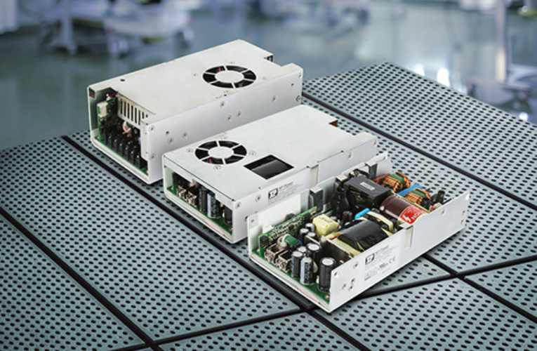 New 500W-650W AC-DC Power Supplies for Medical Devices Including BF Applications