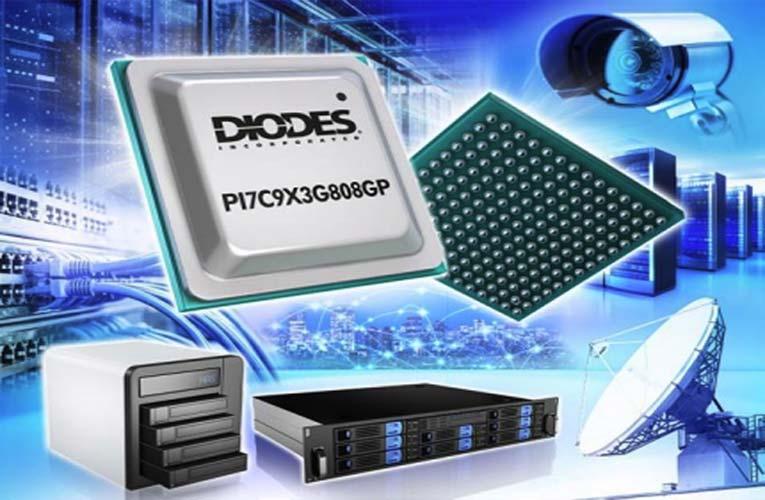 PI7C9X3G808GP PCIe GEN3 Packet Switch