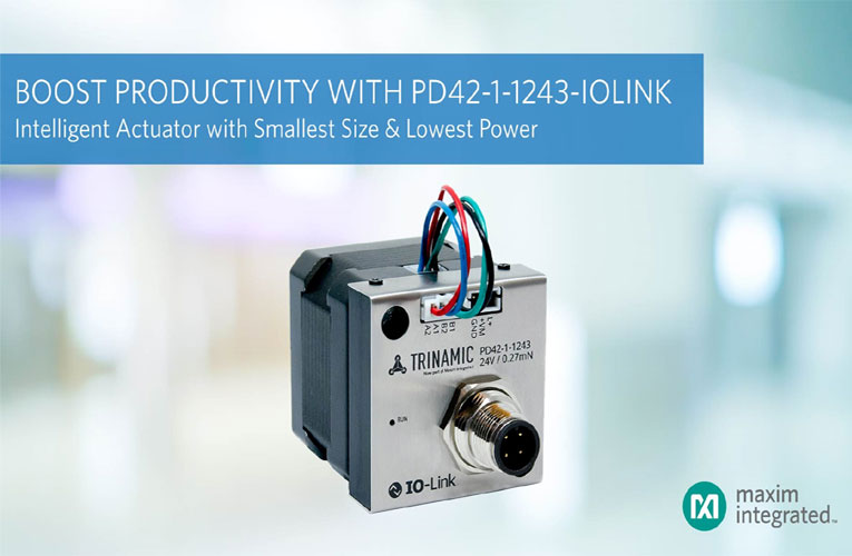 PD42-1-1243-IOLINK Intelligent Actuator from Maxim Integrated