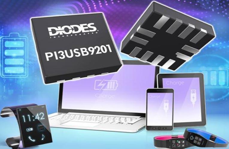 PI3USB9201 - USB Battery Charging Detector