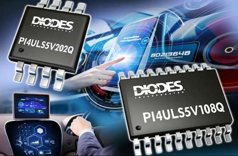 PI4ULS5V108Q & PI4ULS5V02Q – High Speed, Flexible Voltage Translators for Automotive Applications
