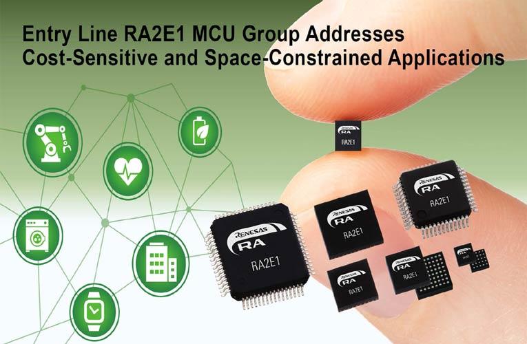 RA2E1 Group Microcontrollers