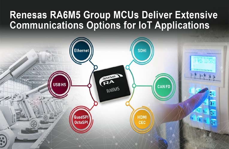Renesas RA6M5 Group Microcontrollers