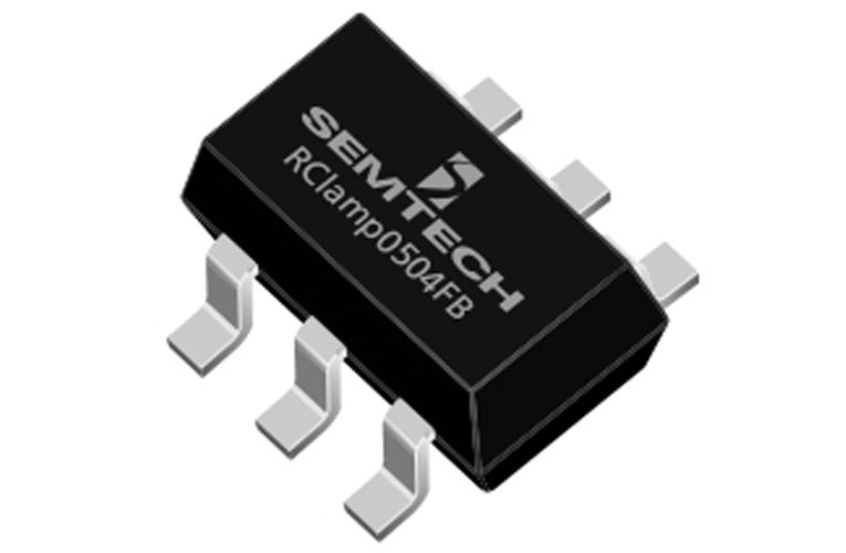 Low Capacitance 5V TVS Diode from Semtech for ESD & EOS Protection in Sensitive IoT Devices
