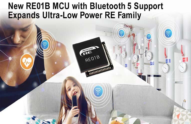 Renesas' RE01B Microcontroller