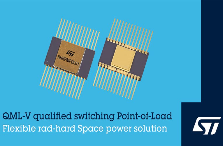 QML-V Qualified 7A Point-of-Load DC/DC Converter from STMicroelectronics
