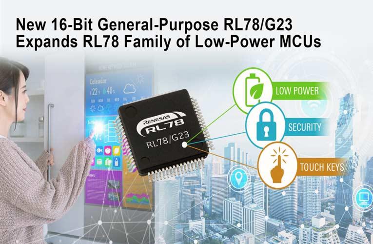 RL78/G23 Microcontrollers