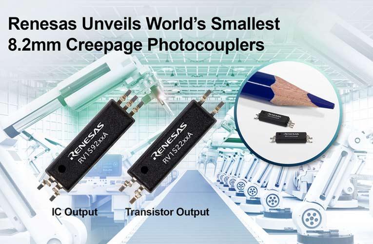 RV1S92xxA & RV1S22xxA Smallest 8.2mm Photocouplers