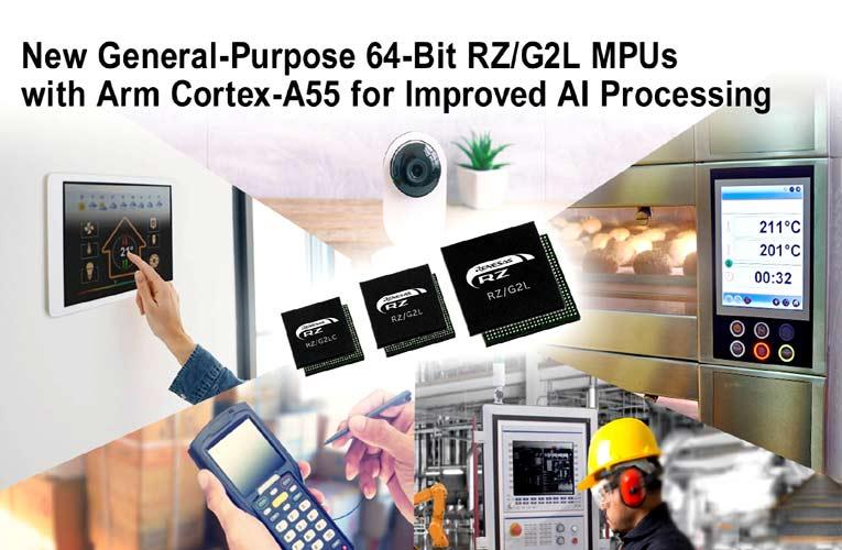 General-Purpose 64-bit RZ/G2L Microprocessors
