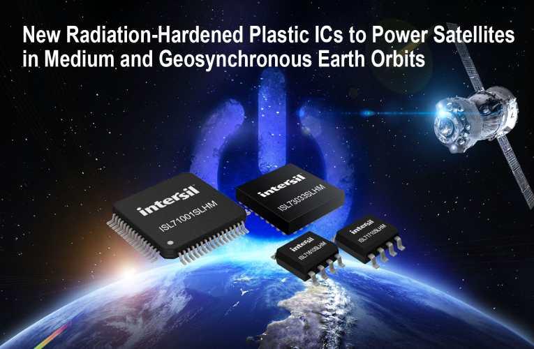 Radiation-Hardened Plastic ICs