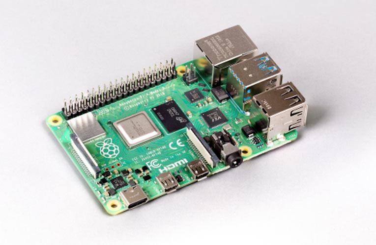 Raspberry Pi 4 with 8 GB Version