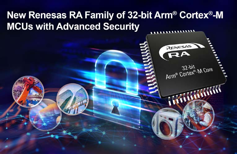Renesas 32-Bit Arm Cortex-M Microcontrollers for IoT Applications