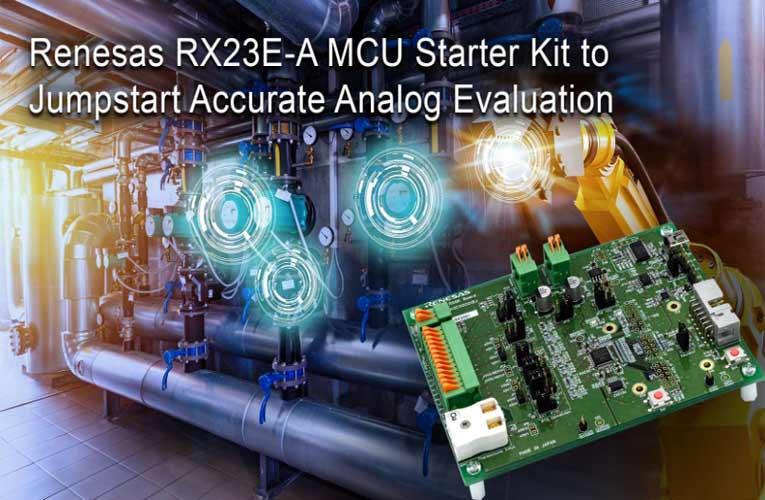 32-bit RX23EA Renesas Solution Starter Kit