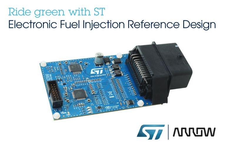 Electronic Fuel-Injection Reference Design Compliant with New Emission Regulation for Small Engines