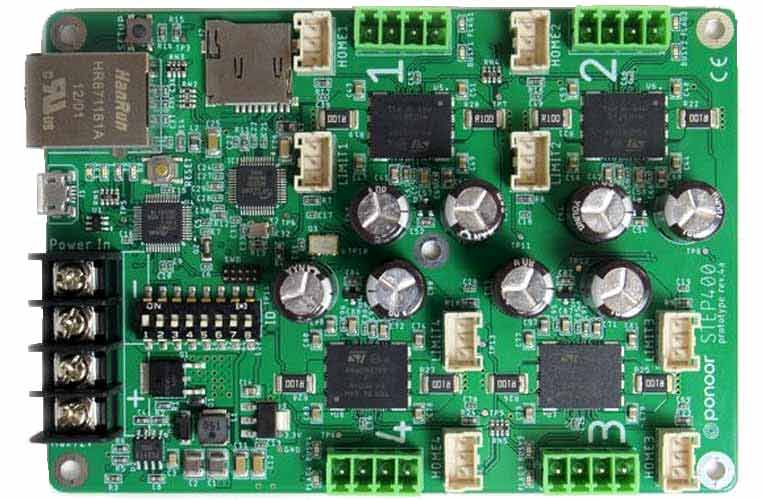 STEP400 4-Axis Stepper Motor Driver