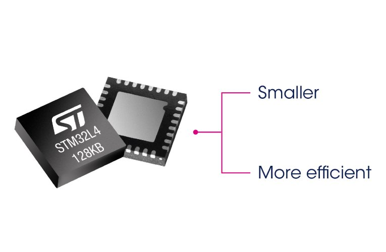 STM32L4 MCUs  for Smaller, Longer-Lasting Smart Devices